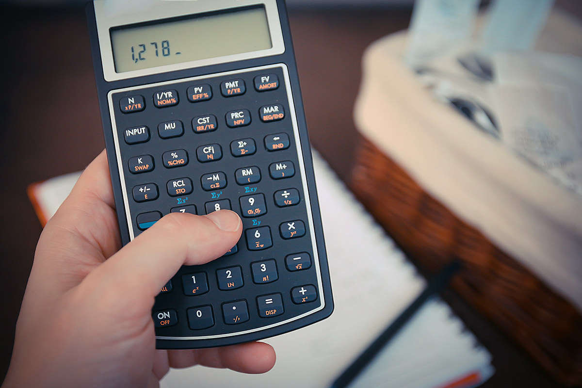 Photograph of Financial Calculator - Why everyone needs a budget