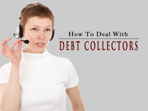 How to deal with debt collectors photograph