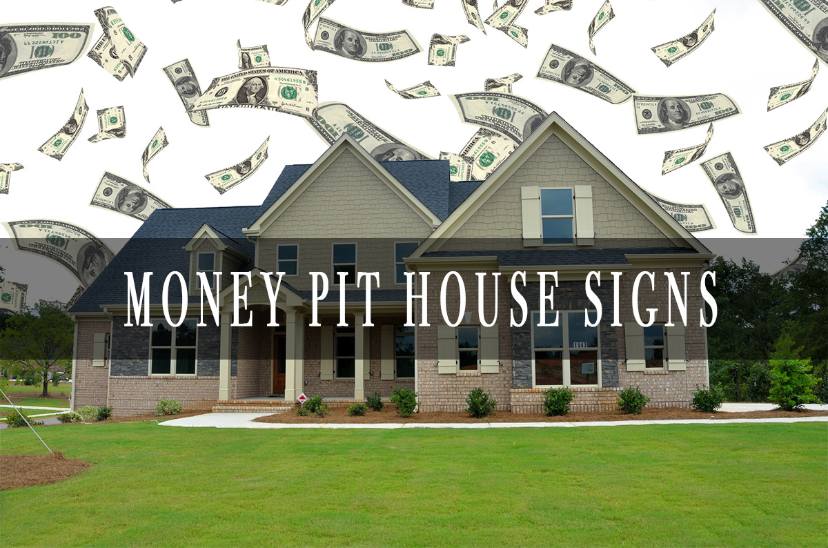Money Pit Home Photograph