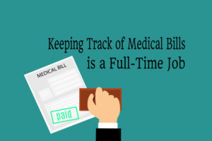 Keeping Track of Medical Bills Graphic