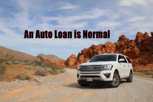 An Auto Loan is Normal