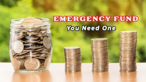 Why you need an emergency fund starting today.
