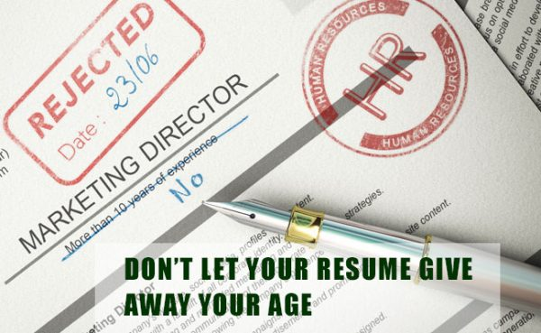 Don't Let Your Resume Give Away Your Age