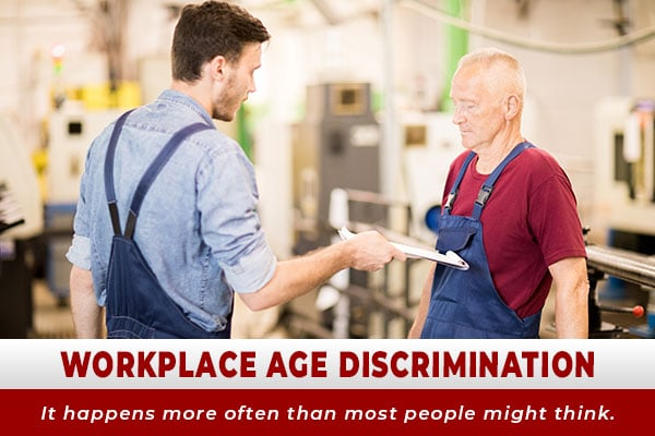 Workplace Age Discrimination - It happens more often than most people might think.