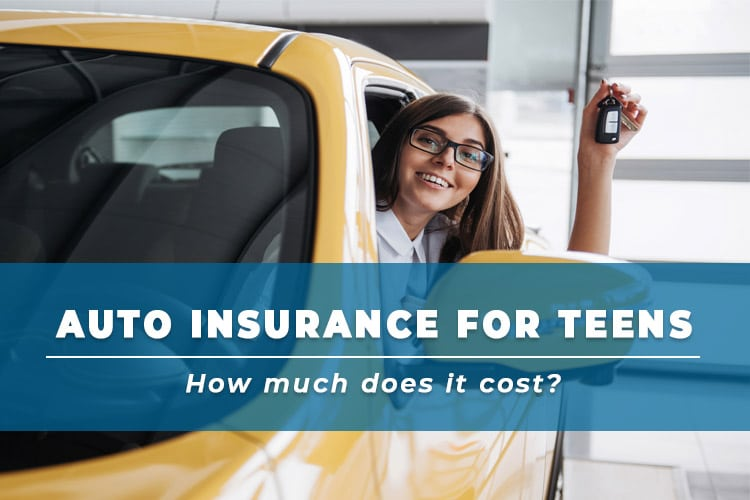 Auto Insurance for Teens: How much does it cost?